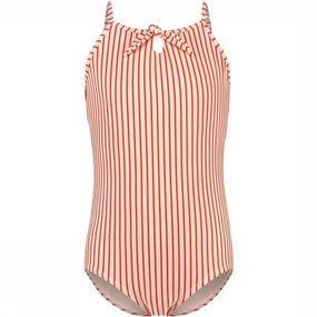 Shiwi Badpak Swimsuit Bora Bora Stripe voor meisjes - Wit