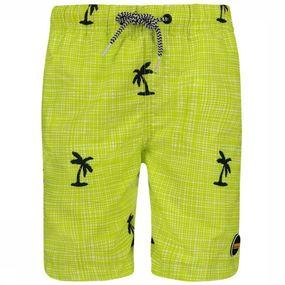 Swim Shorts Modern Check Palm