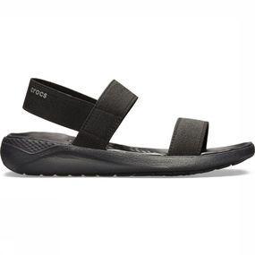 Crocs Slipper Literide Sandal voor dames Zwart