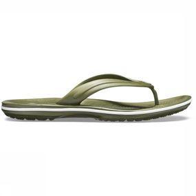 Crocs Slipper Crocband Flip voor heren Kaki