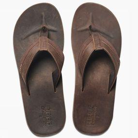 Flip Flop Leather Cntrd Cushon