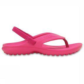 Crocs Slipper Classic Flip voor meisjes Roze