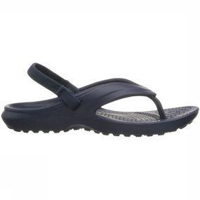 Crocs Slipper Classic Flip voor meisjes Blauw