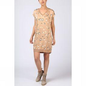 Dress Woven Nature Dot Print