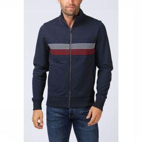 Cardigan Coporate Stripe Zip
