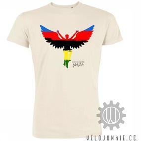 T-Shirt Wings Rainbow