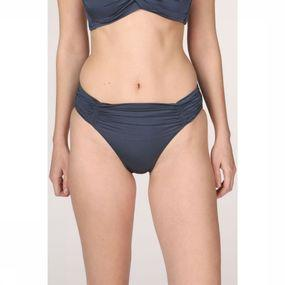 Seafolly Slip Shine On Gathered Retro voor dames - Blauw