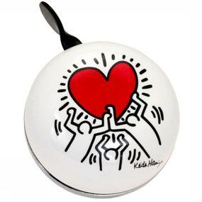 Bicycle Bell Ding Dong Bell Keith Haring Hearts
