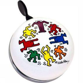 Bicycle Bell Ding Dong Bell Keith Haring Circle Op People