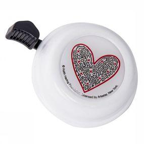 Bicycle Bell Colour Bell Keith Haring Heart