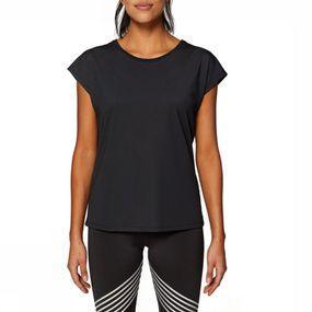 Esprit T-shirt Tshirt Edry Solid voor dames – Zwart