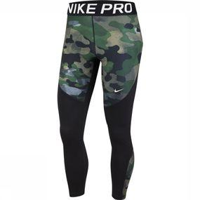 Nike Legging Nike Pro Rebel 7/8 Camo voor dames - Zwart