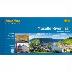 Reisboek Moselle River Trail Metz to the Rhine cycling guide GPS