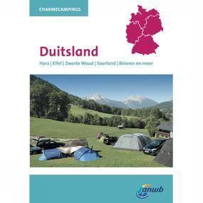 ANWB Reisboek Charmecampings Duitsland - Geel