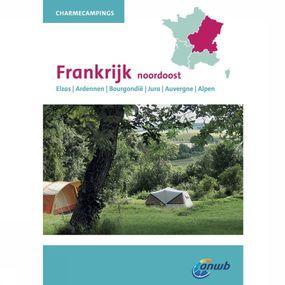 ANWB Reisgids Charmecampings Frankrijk Noordoost & Midden - Geel