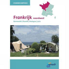 ANWB Reisgids Charmecampings Frankrijk Noordwest - Geel