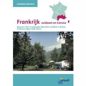 ANWB Reisgids Charmecampings Frankrijk Zuidoost - Geel