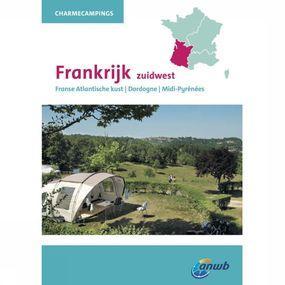 ANWB Reisgids Charmecampings Frankrijk Zuidwest - Geel