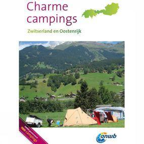 ANWB Reisgids Charmecampings Oostenrijk, Zwitserland - Geel