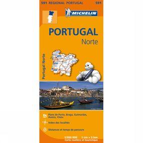 Travel Guide Portugal Noord 591 mich