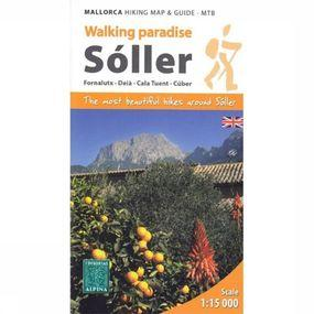 Soller - Mallorca Hiking Map & Guide - Mtb