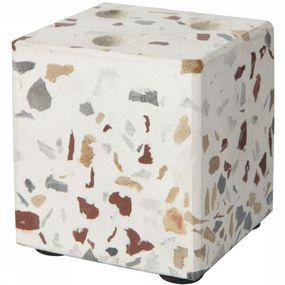 Kaarsenhouder Cube Terrazzo Candleholder For 3 Mini Candles