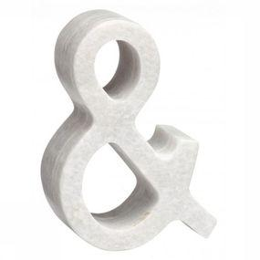 Decoratie  Marble Symbol Ampersand