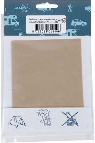 Bo-Camp Accessory Reparatiedoek Zelfk. Nylon Beige light brown