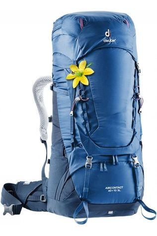 Deuter Backpack Aircontact 60 + 10 SL dark blue/mid blue