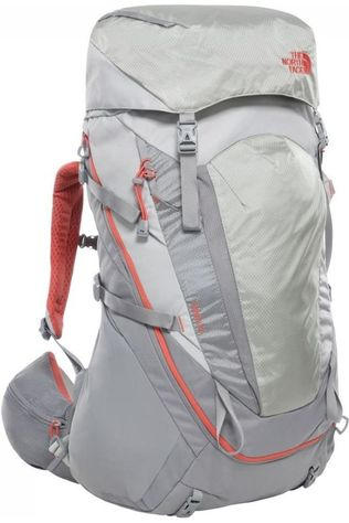 The North Face Backpack  Women'S Terra 55 light grey/mid grey
