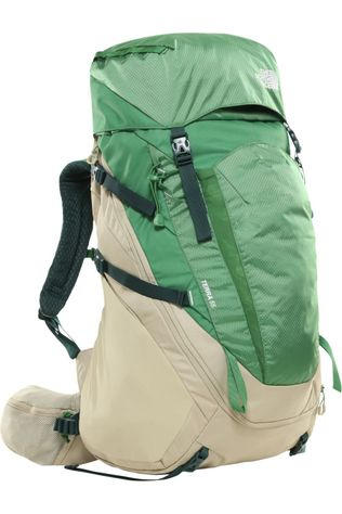 The North Face Backpack  Terra 55-65 Sand Brown/Mid Green