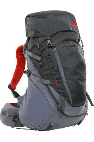 The North Face Rugzak Terra 55-65 Donkergrijs/Middenrood