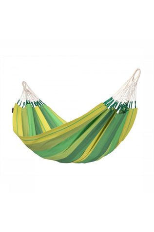La Siesta Hammock Orquídea Single mid green/light green