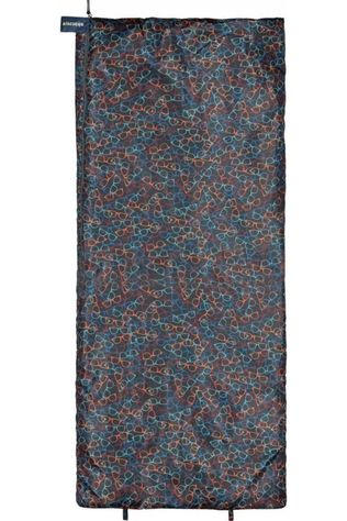 Ayacucho Sleeping Bag Woodstock dark blue/dark red
