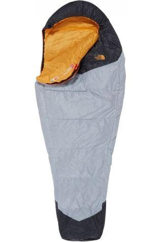 The North Face Sleeping Bag Gold Kazoo Long light grey/dark yellow