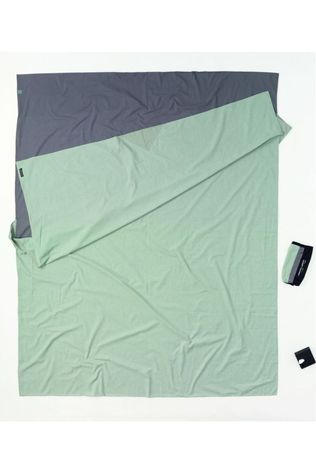 Cocoon Liner Travelsheet Double mid grey/light grey
