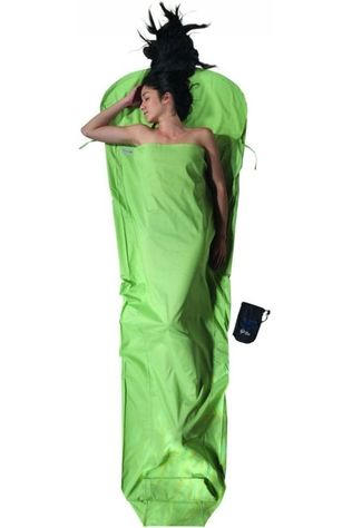 Cocoon Liner Mummy Liner Organic Cotton green