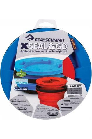 Sea To Summit Gobelet X-Seal And Go Set Large Bleu