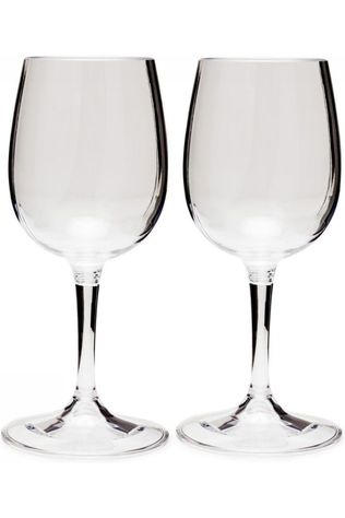 GSI Outdoors Wijnglas Nesting Wine Glass Set 275 Ml Geen kleur / Transparant