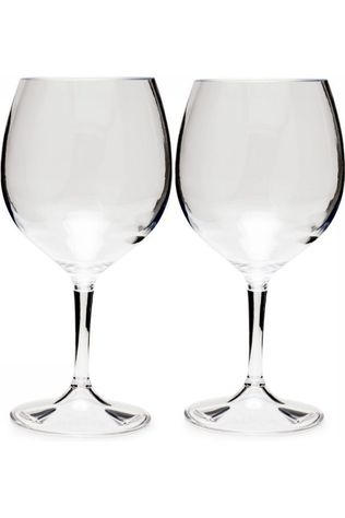 GSI Outdoors Wijnglas Nesting Red Wine Glass set 444ml Geen kleur / Transparant