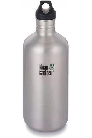 Klean Kanteen Drinkfles Classic Single Wall 64Oz 1900Ml Loop Zilver