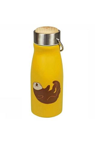 The Zoo Drinkfles Thermal Flask Forest Animals Geel/Bruin