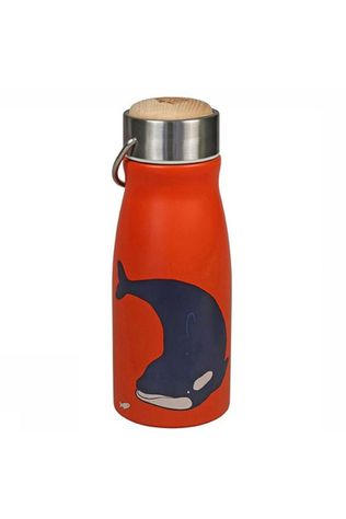 The Zoo Drinkfles Thermal Flask Forest Animals Middengroen/Rood