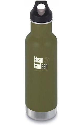 Klean Kanteen Isolatiefles Classic Vacuum Insulated 20Oz 592Ml Loop Donkerkaki