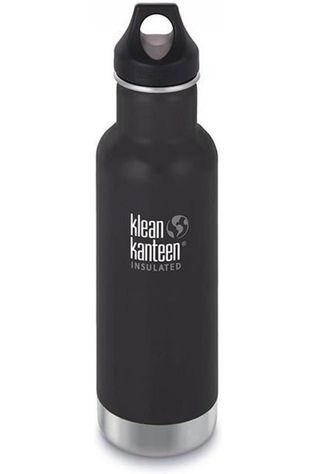 Klean Kanteen Bouteille Isolante Classic Vacuum Insulated 20Oz 592Ml Loop Noir