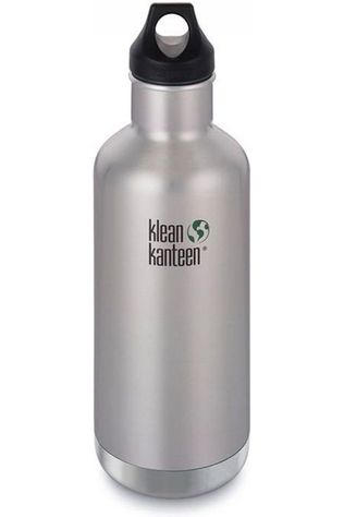Klean Kanteen Isolatiefles Classic Vacuum Insulated 32Oz 946Ml Loop Zilver