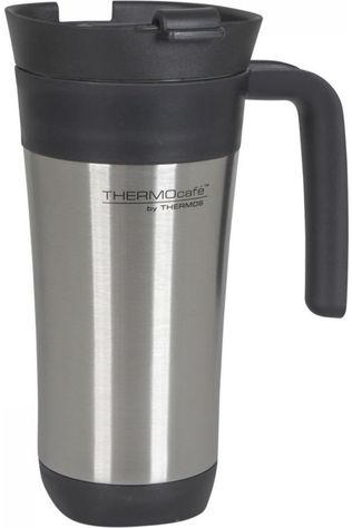 Thermos Bouteille Isolante Travel Mug 425 Ml Argent/Noir