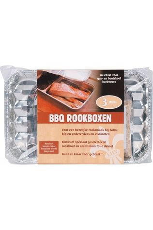 Lily Réchaud Barbecue Rookbox 3 Stuks Pas de couleur / Transparent