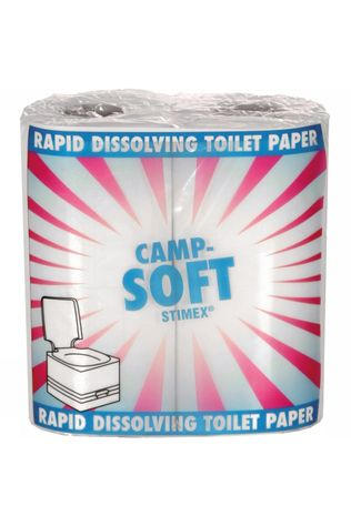 Stimex Toilettes Super Soft Toiletpapier Pas de couleur / Transparent