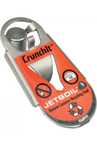 Jetboil Gas Crunchit Fuel Cannister Recycle Tool Zilver